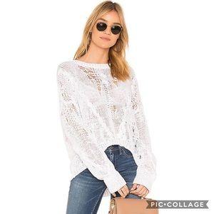 Revolve 360 Sweater Ethel open weave sweater XS